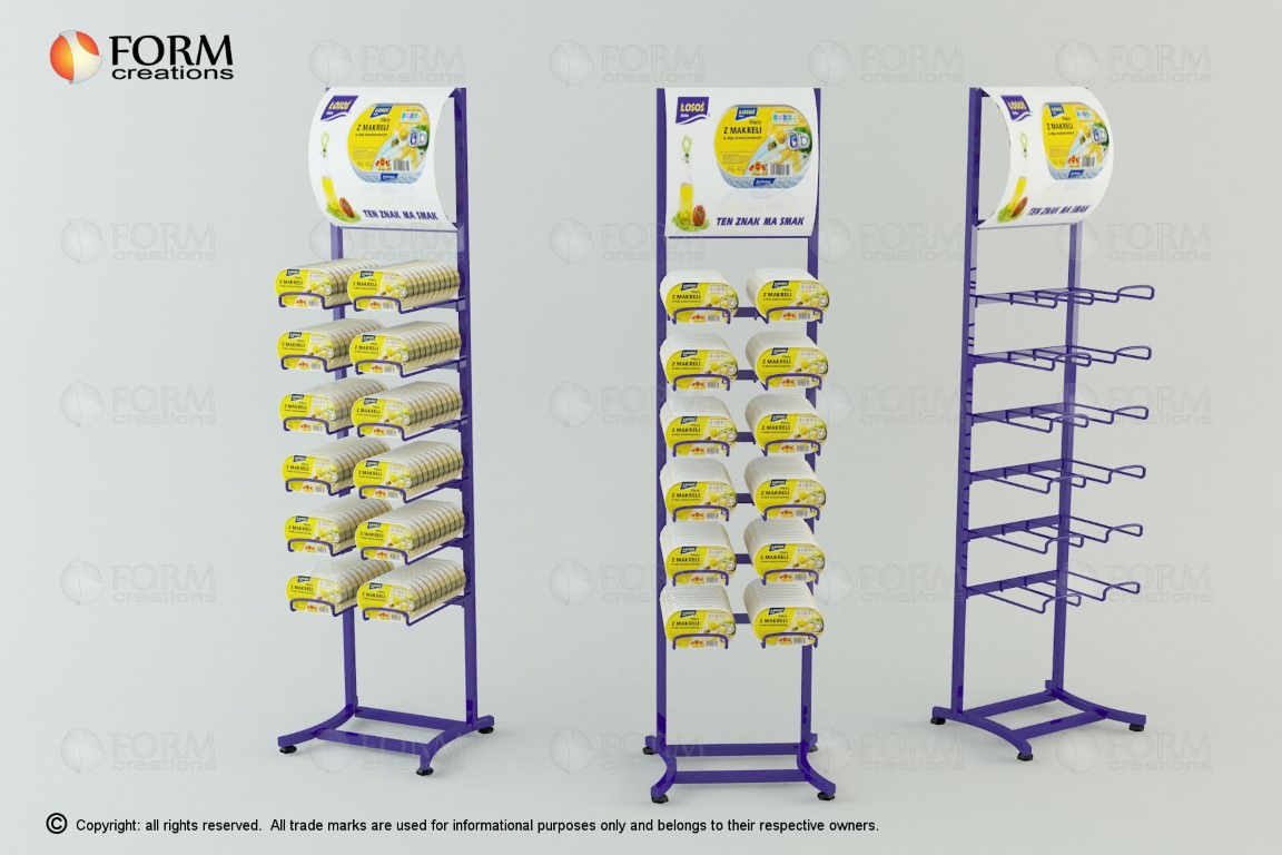 Promotional display racks and shelving | FormCreations