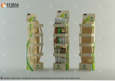 Cosmetics display stands (16040)
