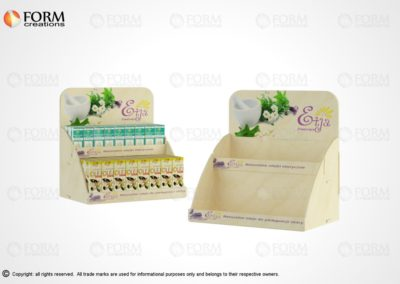 Counter display, eco display solutions (15336)