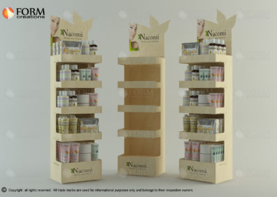 Eco Stand for natural cosmetics (15352)