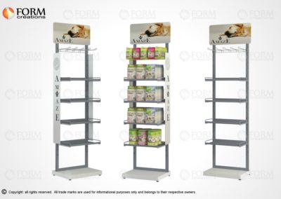 Metal display stands (15320)