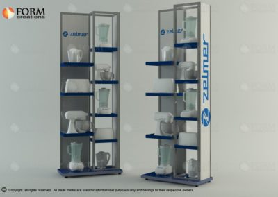 POS display unit for home appliance (16212)