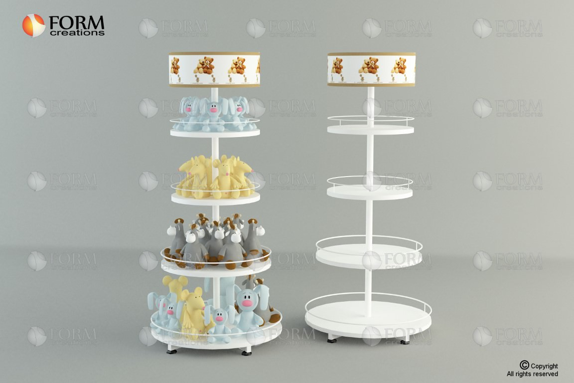 Small Exhibition Stand Lighting : Promotional display racks and shelving formcreations