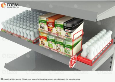 Supermarket shelf equipment. Different accessories for your product visibility (15379)